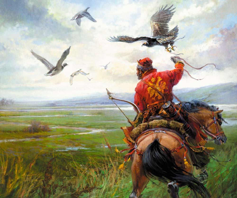 Охота в Беловежской пуще